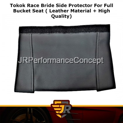 Tokok Race Bride Side Protector For Full Bucket Seat ( Leather Material + High Quality)